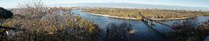 Kiev, Dnepr, Truchaniw-Insel