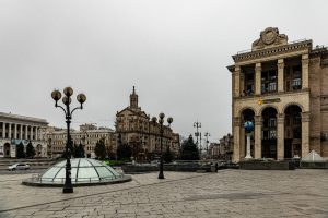 Kiev, Maidan Platz